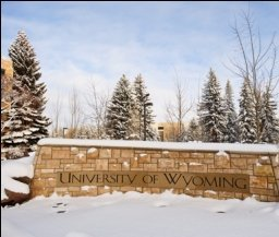 University of Wyoming campus