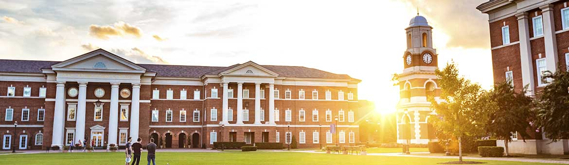 Christopher Newport University campus