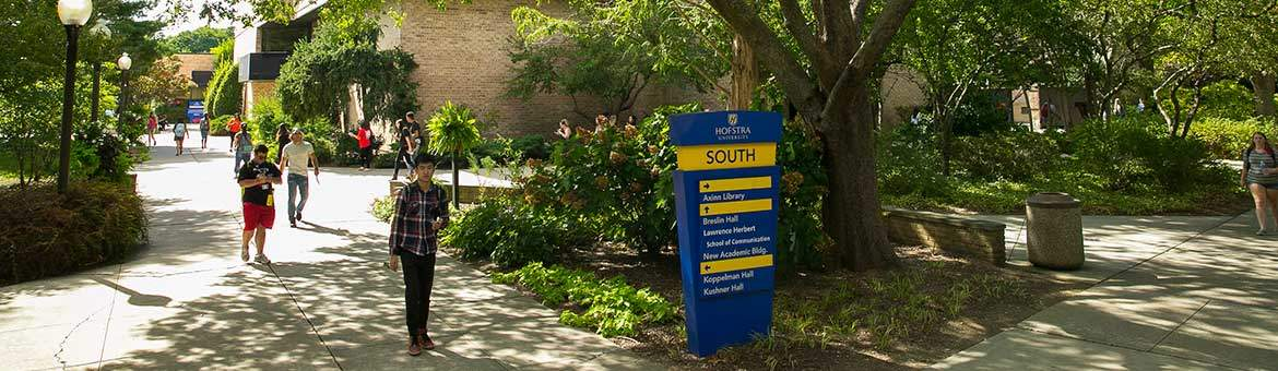 Hofstra University campus