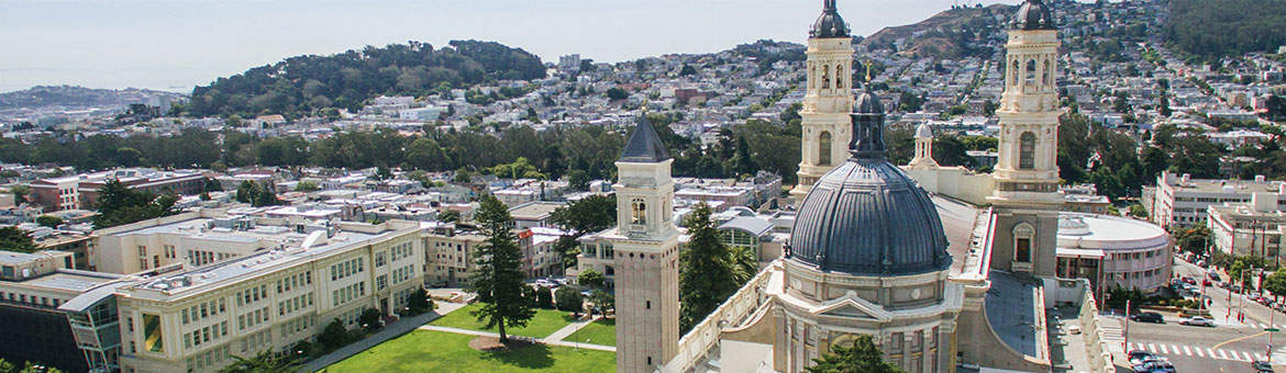 University of San Francisco campus